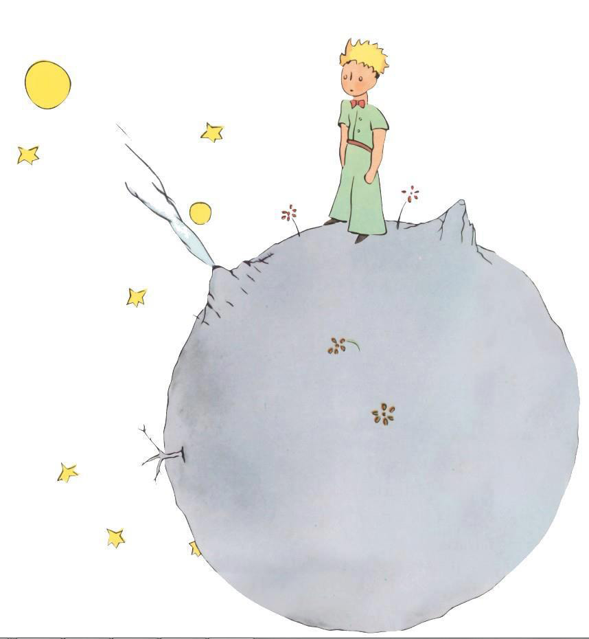 Скрап картинки с маленьким принцем