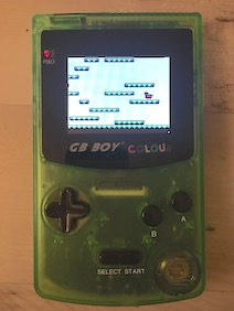Game on a real Gameboy