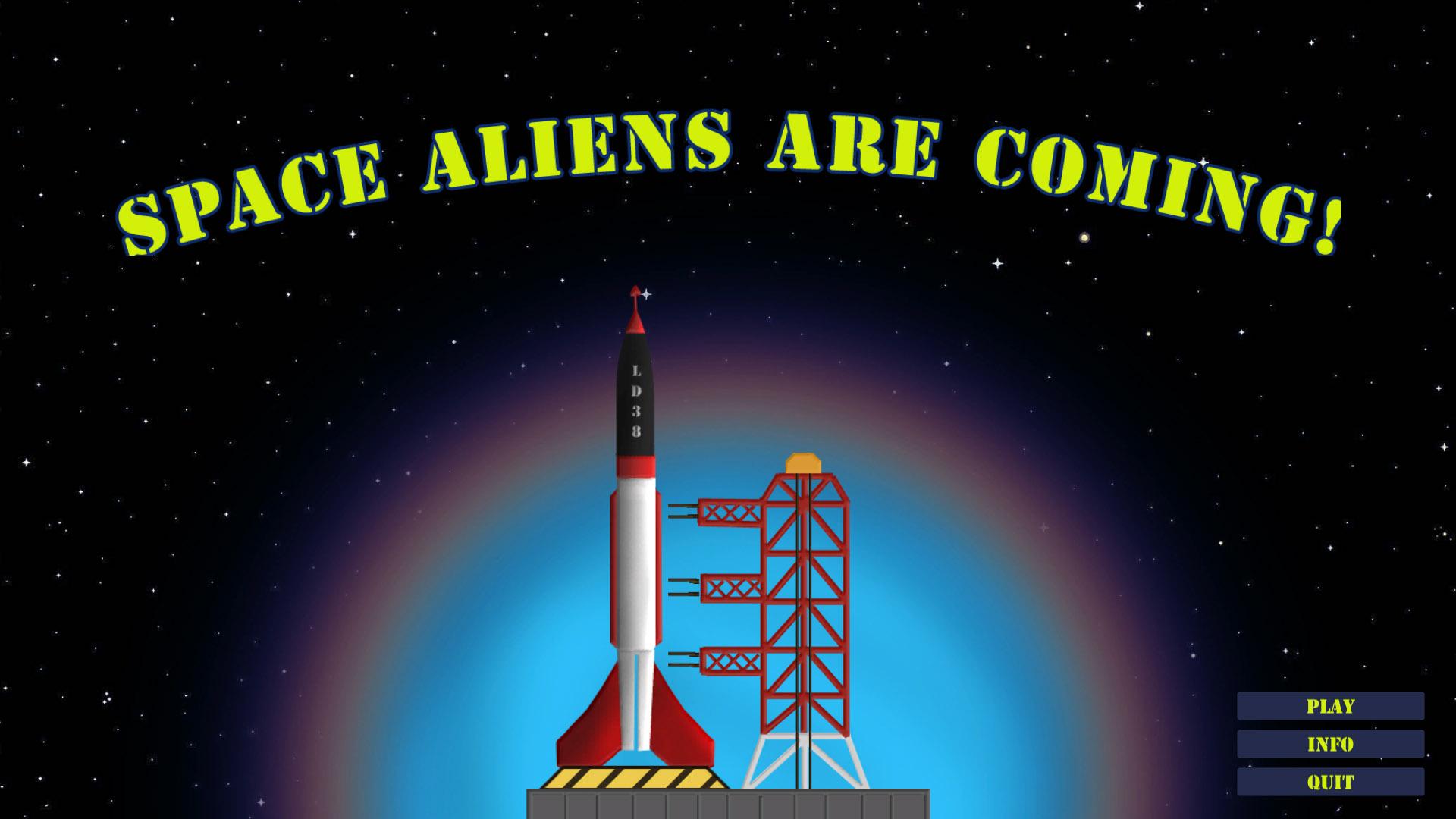 space aliens are coming ldjam com