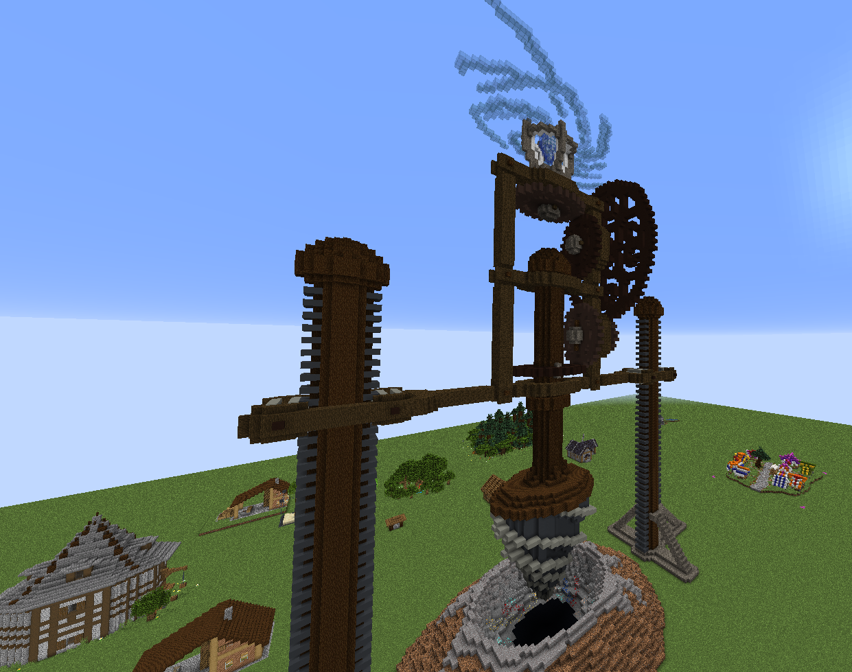 All models build in Minecraft
