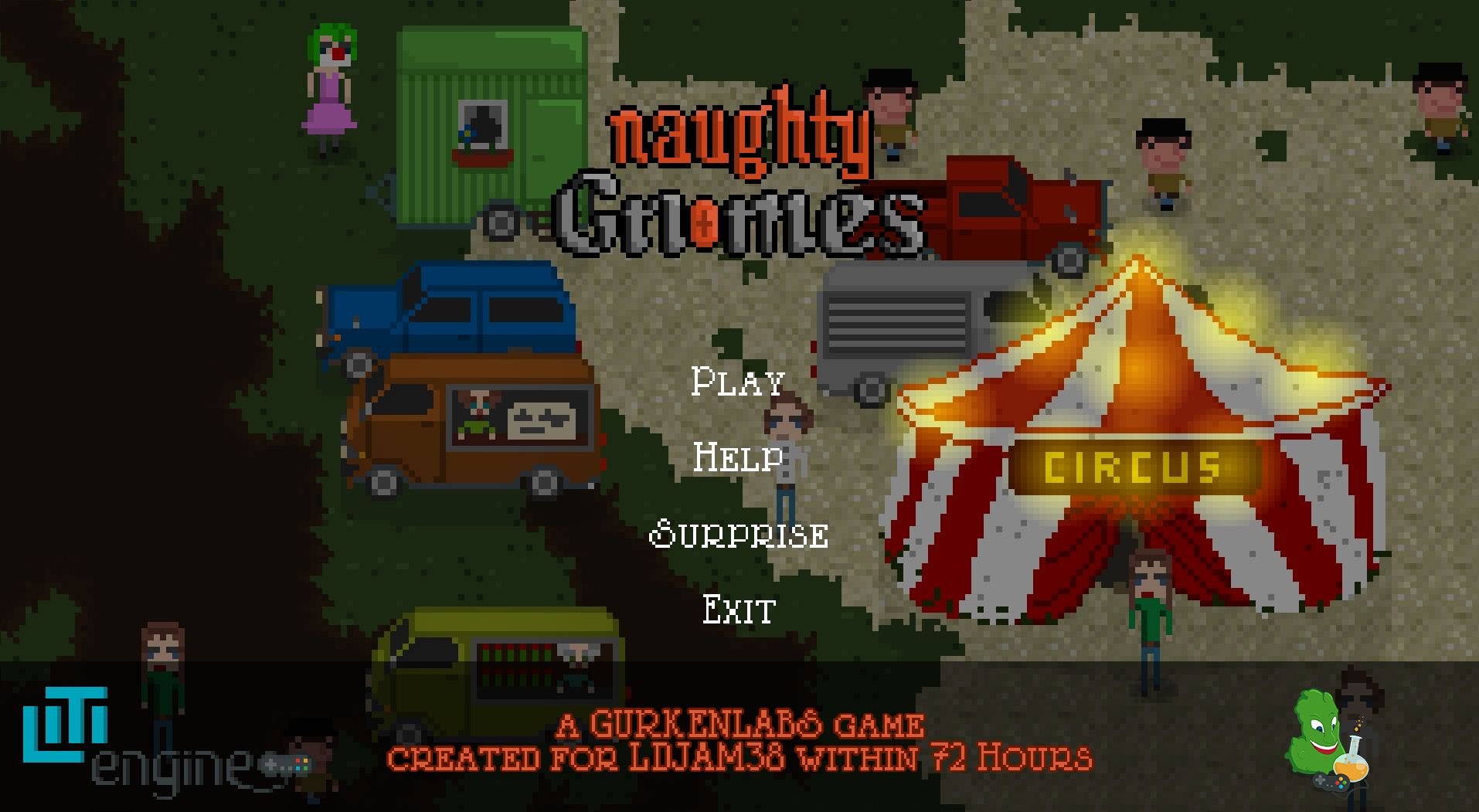 """Naughty Gnomes Screenshot Menu"" title=""Naughty Gnomes Screenshot Menu"""